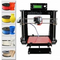 Acrylic Prusa I3 pro B 3D Printer  DIY kit