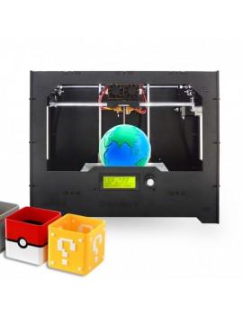 wood Duplicator 5 DIY dual extruder 3D Printer