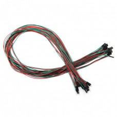12pcs 3Pin F/F Jumper Wires